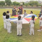 Parachute Play (Sr.KG A & B) 4-7-2014