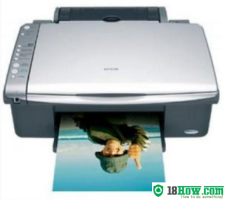 How to reset flashing lights for Epson CX4080 printer