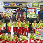 Field Trip to Supermarket by Playgroup Morning Section at Witty World, Chikoowadi (2017-18)