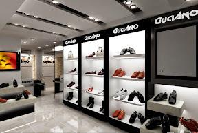 Trang trí shop giày dép 02
