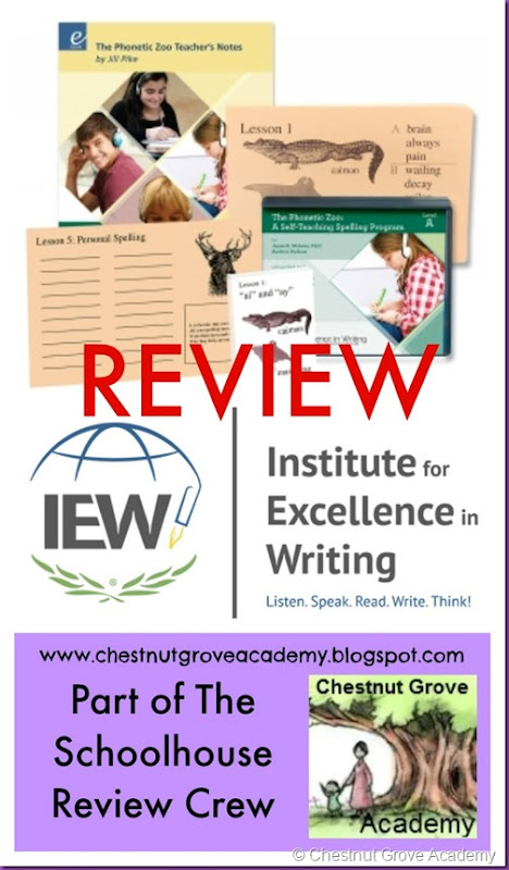 The Phonetic Zoo IEW Review