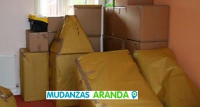 Mudanzas de hogares en Aranda de Duero