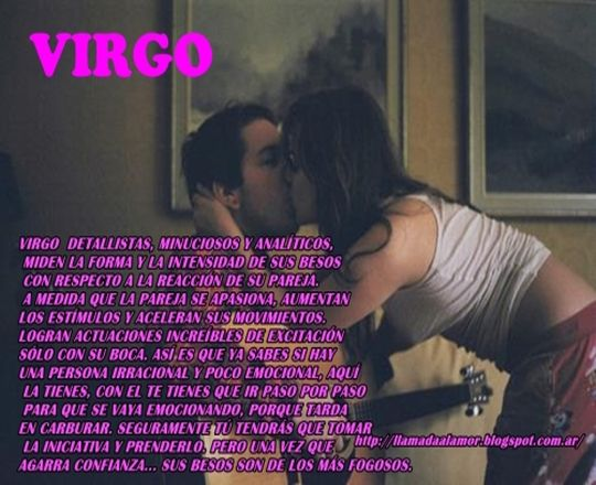 Como besan los de Virgo