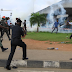#Endsars: Video of policemen shooting directly at protesters got that is trending on social media(Watch Video)