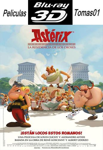 Asterix: La Residencia de los Dioses (2014) BDRip 1080p 3D
