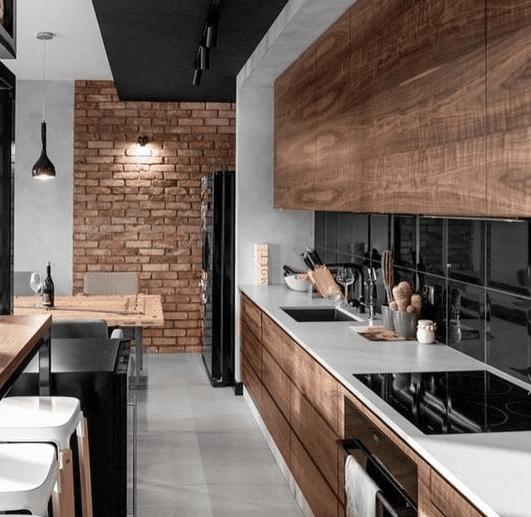25 Ideas de diseño de cocinas minimalistas y elegantes