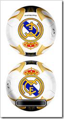 Tarjeta Real Madrid Balon Pelota - Delante