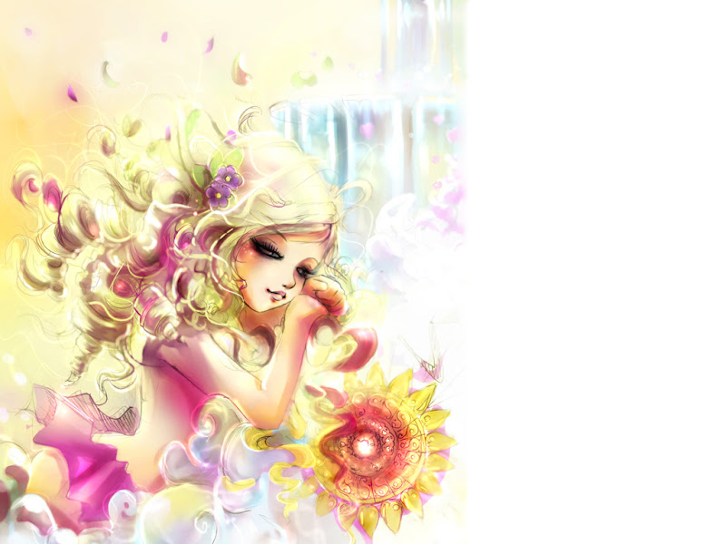 Nature Of Young Angel, Magic Beauties 5