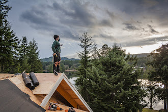 Photo: Roofer getting in on the posing ;-)