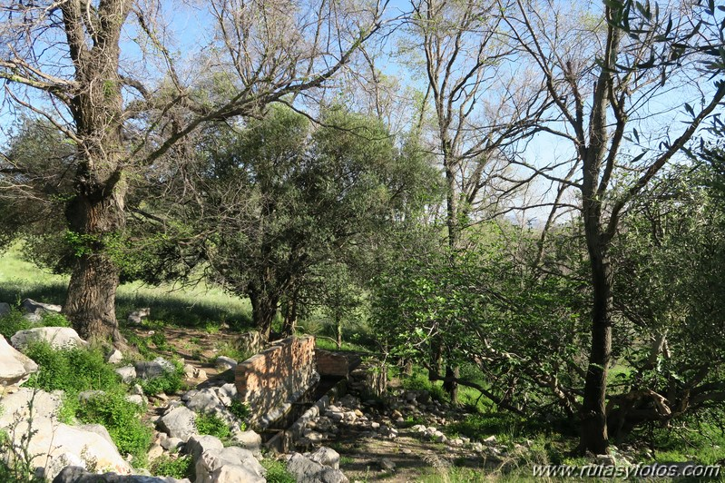 Tajos del Fraile, Santa Ana y Gomer