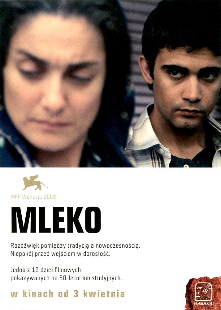 Ulotka filmu 'Mleko (przód)'