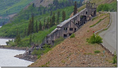 Abandoned Mine along Klondike Highway, Yukon