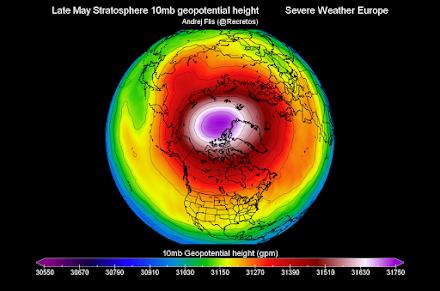 Νέο ισχυρό κύμα από την Αρκτική θα επηρεάσει την Βόρεια Αμερική και την Βόρεια Ευρώπη στο τέλος της εβδομάδας
