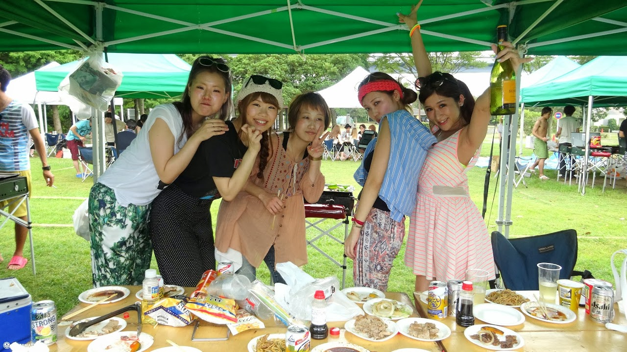 tokyo bbq party in japan • reformatt travel show