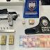 Polícia Militar prende homem suspeito de tentativa de homicídio em Aracruz e apreende submetralhadora