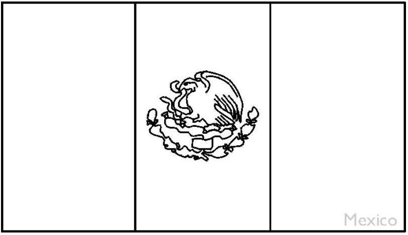 La Bandera nacional de Venezuela para colorear - Imagui