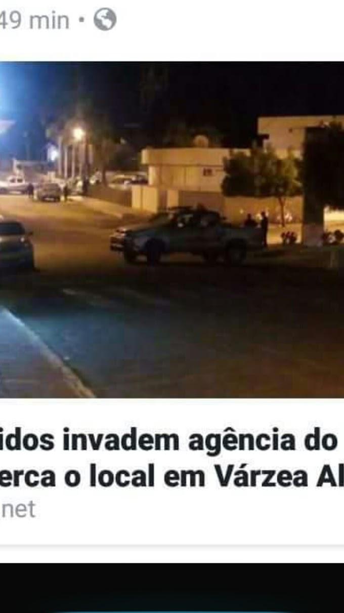 POLÍCIA MILITAR PRENDEU ASSALTANTES DE BANCO NESTA MADRUGADA EM VÁRZEA ALEGRE CEARÁ