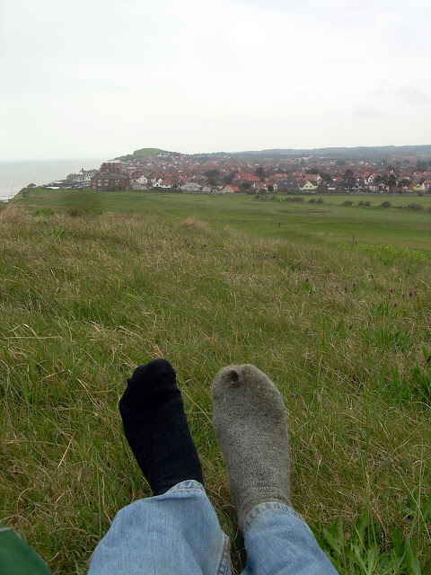 Resting up before the final march on Sheringham