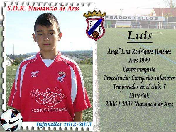 ADR Numancia de Ares. Luís.