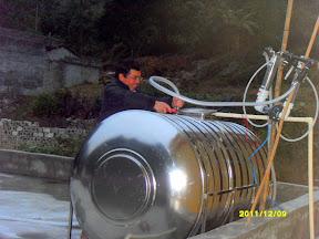 Shang Mei Water Purifier Holding Tank