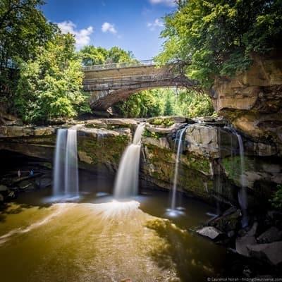 West Falls of Cascade Park, Ohio