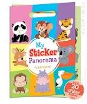 """""""MY STICKER PANORAMA: WILD ANIMAL - Team Merchandising"""""""