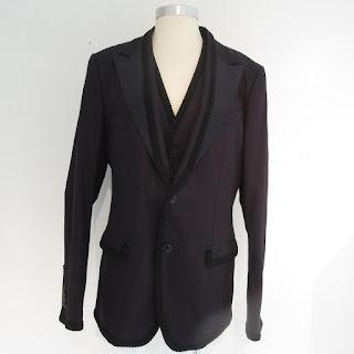 Dolce & Gabbana NEW Indigo Dyed Blazer & Vest