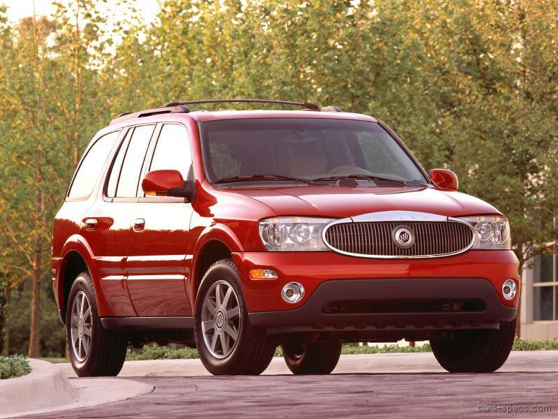 2007 buick rainier suv specifications pictures prices. Black Bedroom Furniture Sets. Home Design Ideas