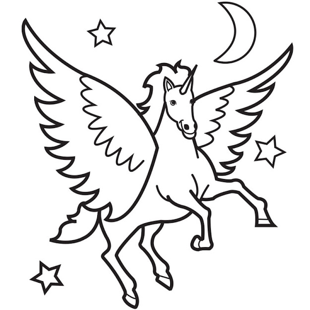 Free Bundle Of Majestic Unicorn Coloring Pages
