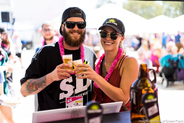Green Flash Brewing Raising a Glass to Find a Cure for Breast Cancer