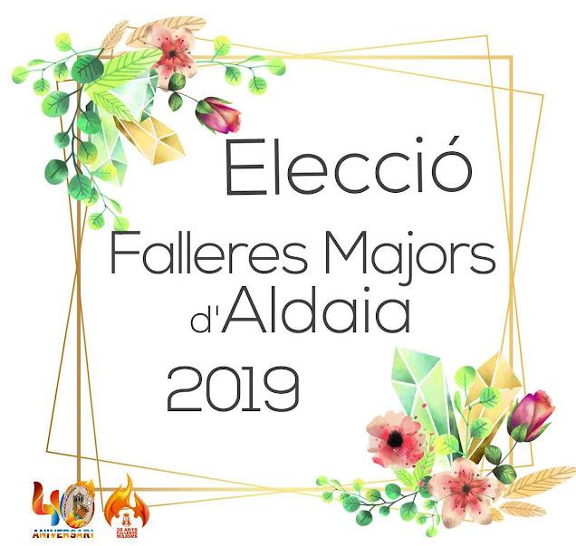 Elección Falleras Mayores de Aldaia.