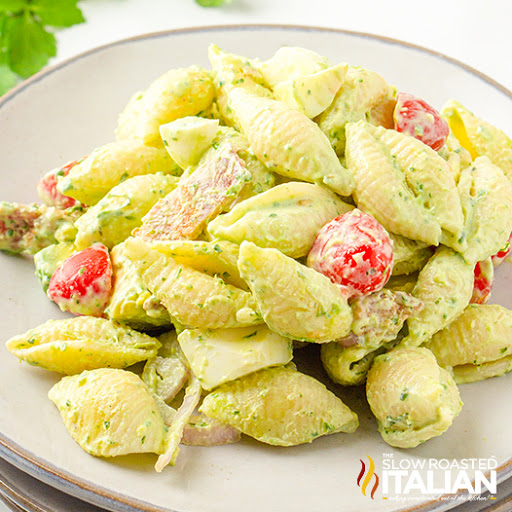 Easy Green Goddess Pasta Salad