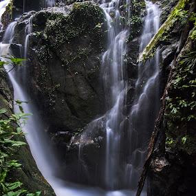 Kanching waterfall, Malaysia by Fadly Hj Halim - Landscapes Forests ( waterfall, forest, malaysia, fadlyhalim, kanching )