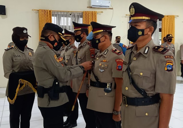 Empat Perwira Berganti, Kapolres Balangan Tekankan Tupoksi