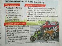 Kesemerawutan Di Kota Rembang