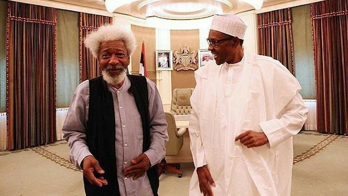 There are so many people who should be in prison if Buhari's government had not run out of steam – Wole Soyinka