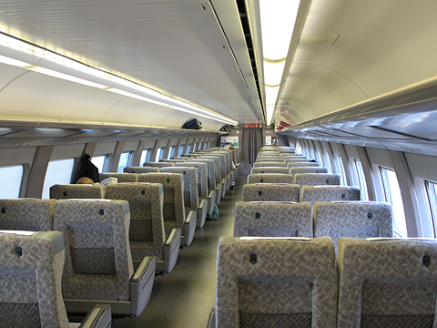 JR西日本 山陽新幹線「こだま741号」500 TYPE EVA 車内 その26