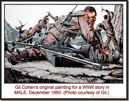 MALE, Dec 1960 - art by Gil Cohen copy REV