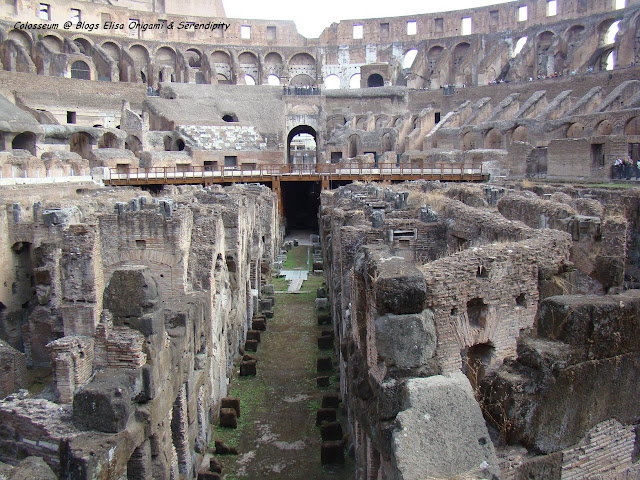 Coliseo Romano, Interior, Roma, Elisa N, Blog de Viajes Argentina