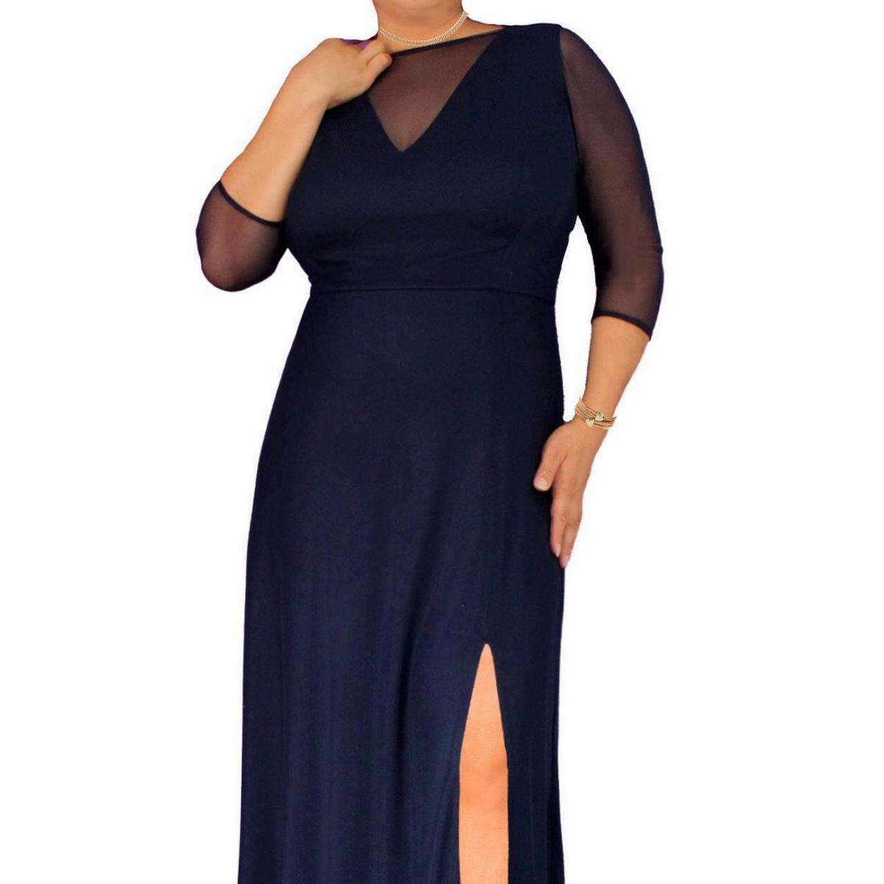 Vestidos de noche tallas grandes mercadolibre