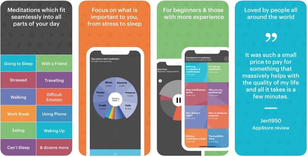 buddhify: meditation on the go- Meditation for calm & sleepbuddhify: meditation on the go- Meditation for calm & sleep