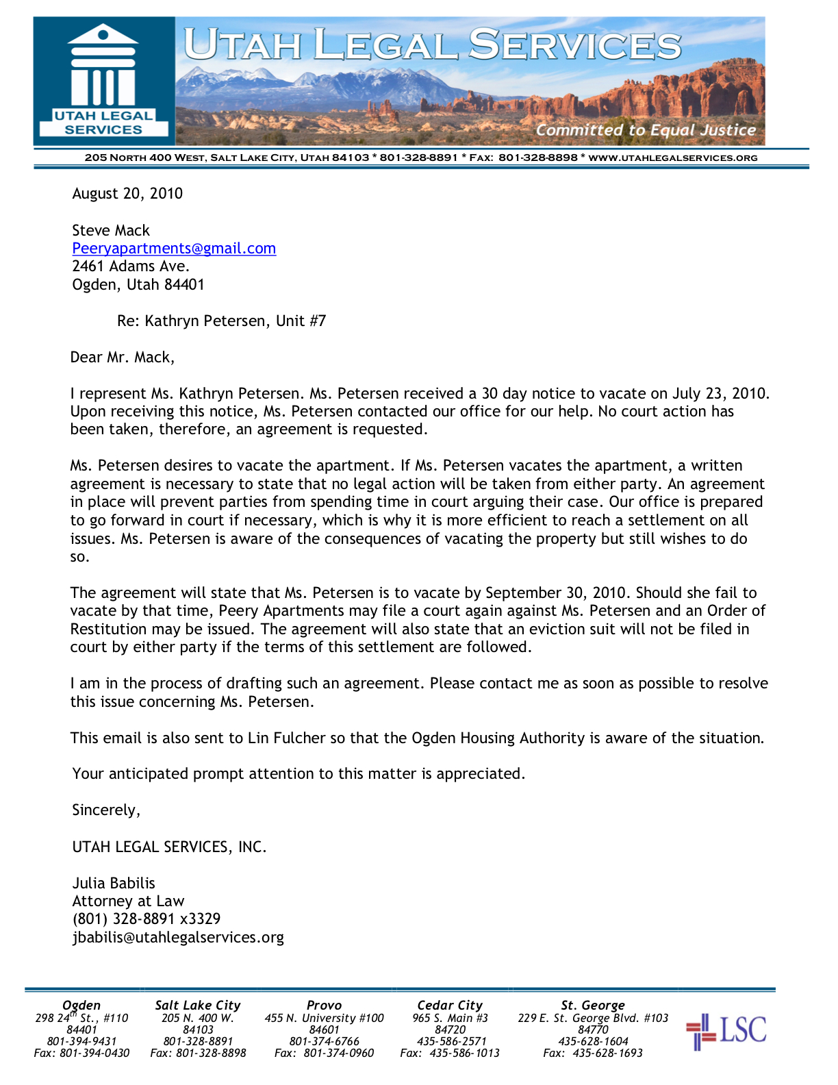 Sample Notice To Quit Letter Nj – Notice to Quit Letter