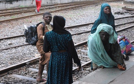 Photos: Rauf Aregbesola's free Train departs Lagos for Osun
