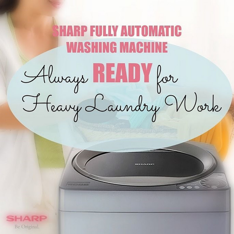 The Sharp Fully Auto Washing Machine: Always Ready for any Heavy Laundry Work