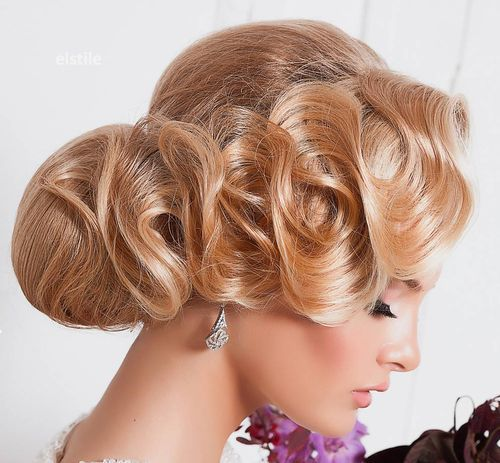 Top Smart Wedding Hair Updos In Current Year For Brides 2017-2018 15