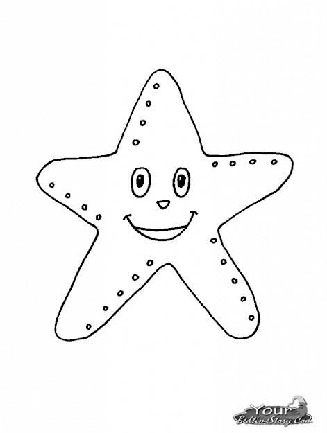 Getcoloringpages Starfish Coloring Page Starfish Coloring Pages  Loquepida Agente De Pras