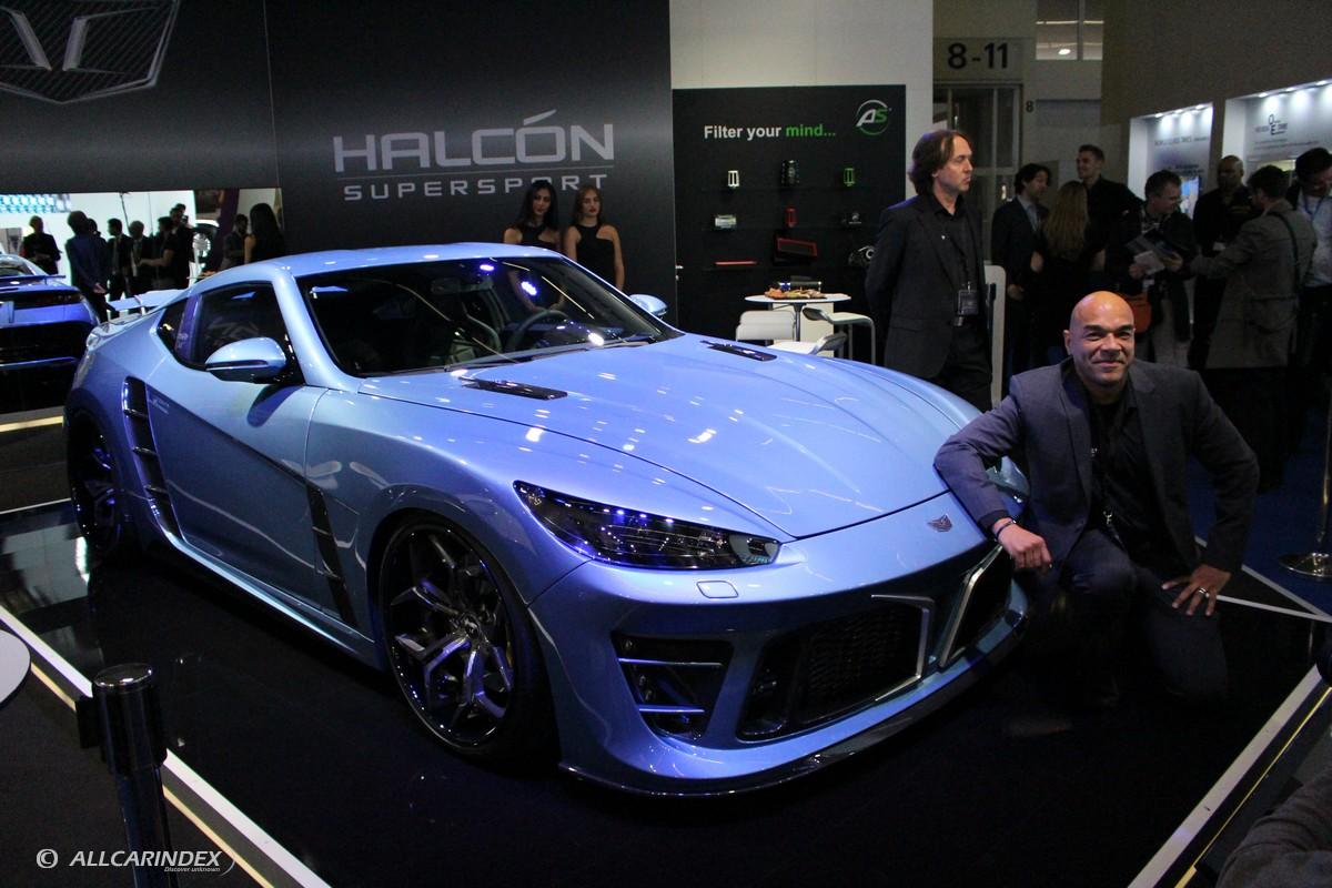 Frankfurt 2015 Halcon Supersport Falcarto New German