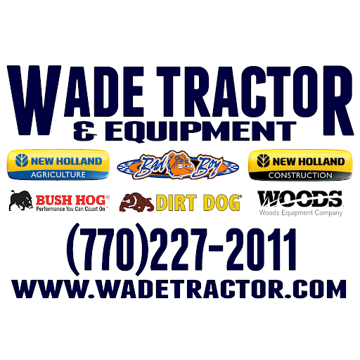 Image result for Wade Tractor & Equipment. Inc. ,logo