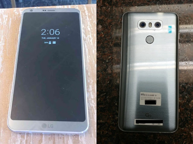 LG G6 Leaked Specifications Ahead Of The Official Release