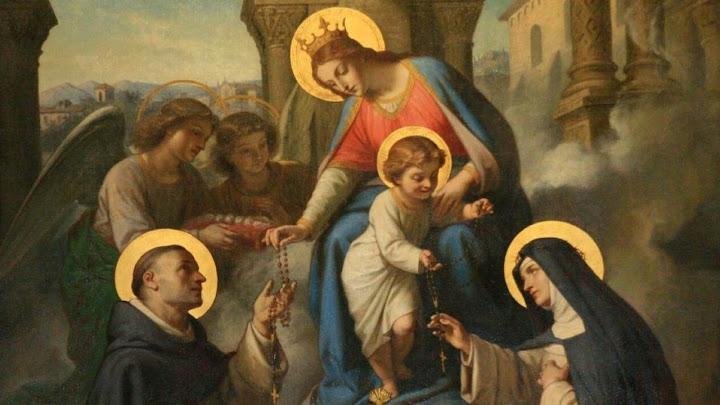 Đức Chúa ở cùng Bà (07.10.2020 – Thứ Tư Tuần 27 TN - Lễ Đức Mẹ Mân Côi)